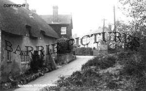 Norton Fitzwarren, Village c1910