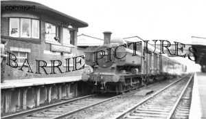 Templecombe, Station 18th April 1964