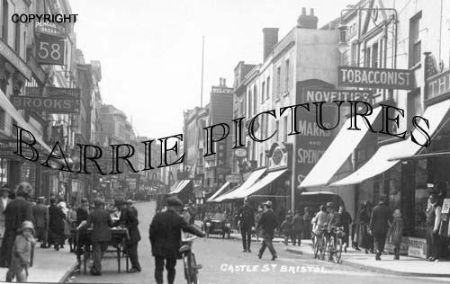 Bristol, Castle Street c1925