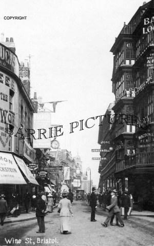 Bristol, wine Street c1915