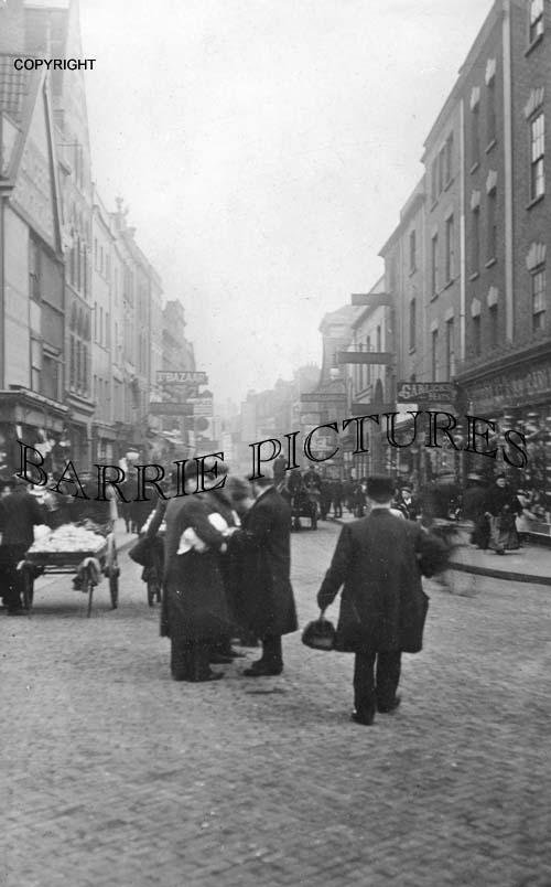 Bristol, Castle Street c1890