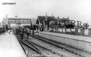 Norton Fitzwarren, Station c1900