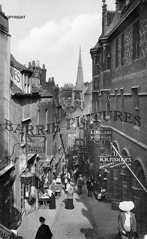 Bristol, Christmas Steps 1905