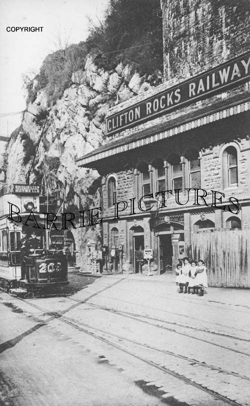 Clifton, Rocks Railway entrance 1900