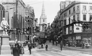 Bristol, High Street c1900