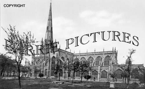 Bristol, St Mary Radcliffe 1900