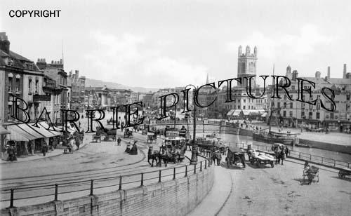 Bristol, St Augustines 1900