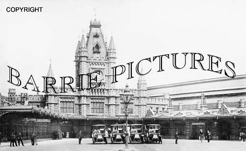 Bristol, Templemeads Station 1907