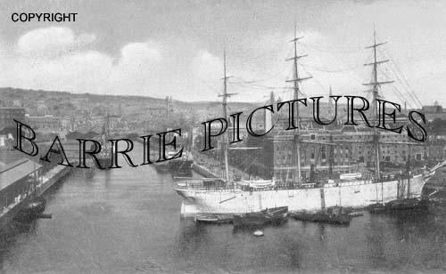 Bristol, The Docks 1905