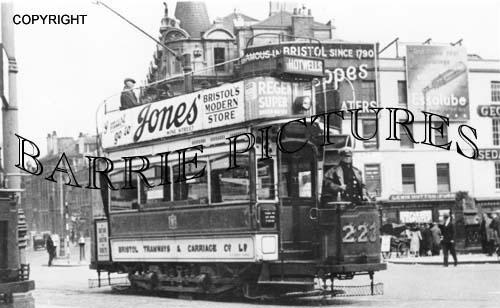 Bristol, Tram 223 at Baldwin Street