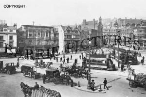 Bristol, Tramway Centre 1907