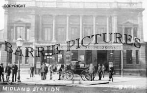 Bath, Midland Station c1900