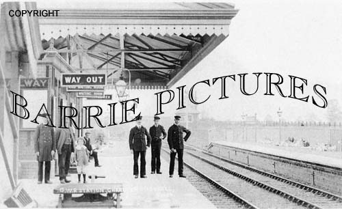 Charlton Mackrell, Station c1905