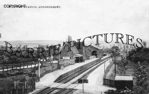 Congresbury, Station c1900