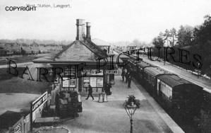 Langport, West Station c1910