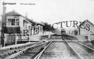 Nailsea, Station c1910