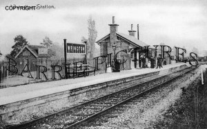 Wrington, Station c1900