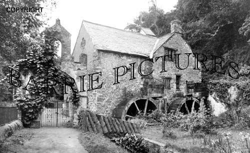 Dunster, The Mill c1900