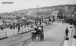 Weston Super Mare, The Promenade c1905
