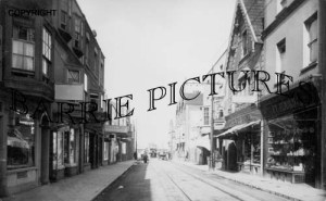 Weston Super Mare, Oxford Street c1905