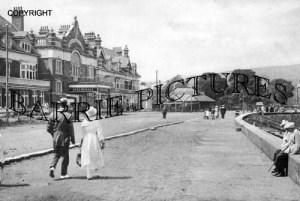 Minehead, Promenade 1919