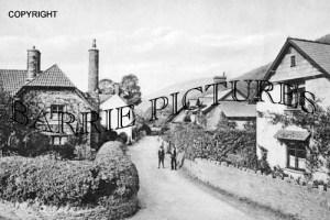 Allerford, Village 1908