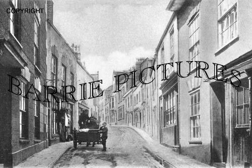 Axbridge, High Street 1905