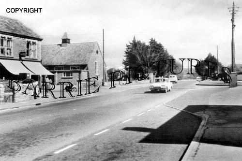 Backwell, Cross Roads and Parish Hall 1965