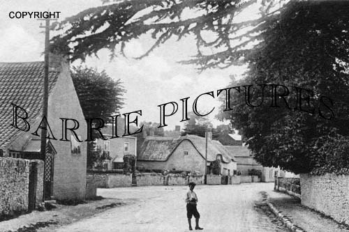 Backwell, West Town 1906