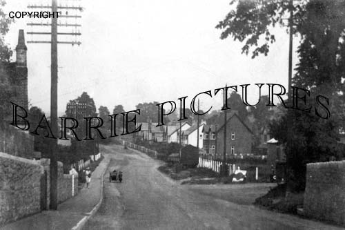 Backwell, West Town Bristol Road c1920