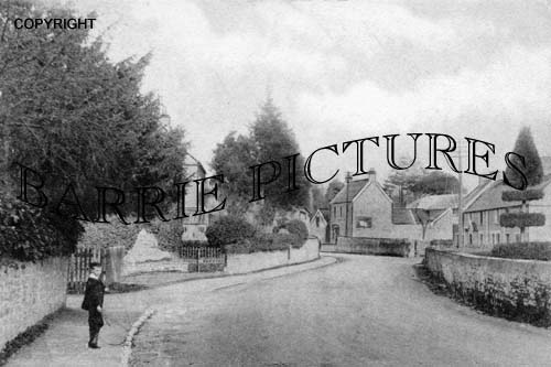 Backwell, West Town the Village 1909