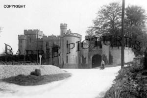 Banwell, Castle Entrance c1910