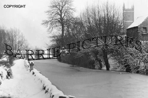 Bristol, Frozen Mill Stream c1920