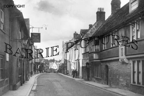 Bruton, High Street c1940