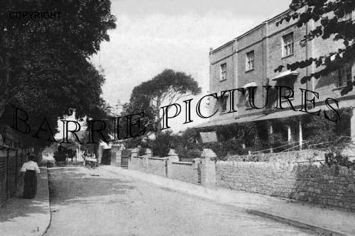 Burnham, Berrow Road 1903