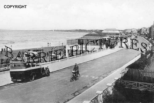 Burnham, Sands and Esplanade 1937
