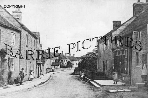 Butleigh, High Street 1905
