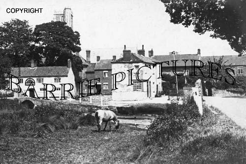 Cannington, Blue Anchor Inn c1930