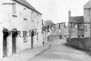 Chew Magna, Silver Street and Church Hall c1920