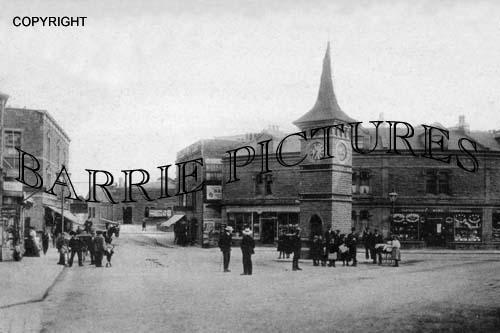 Clevedon, Clock Tower 1905