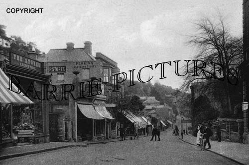Clevedon, Hill road 1908