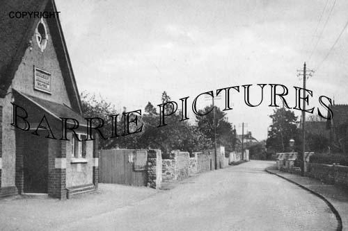 Congresbury, Brinsea Road 1938