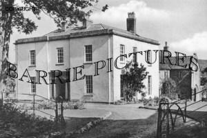 Congresbury, The Vicarage 1960