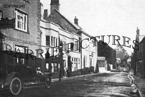 Crewkerne, Post Office and East Street c1930