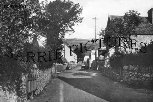 Draycott, Main Street 1930