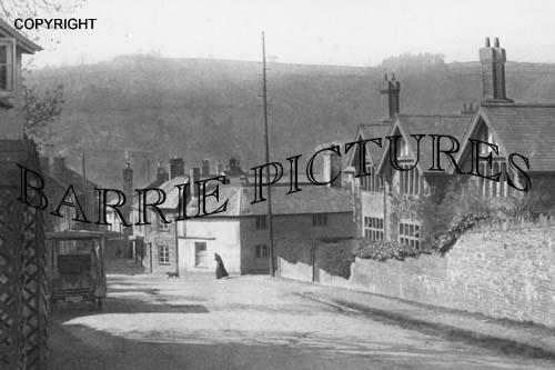 Dulverton, Vicarage Hill c1920