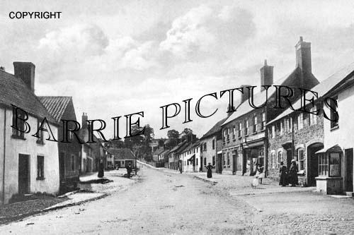 Nether Stowey, Castle Street 1906