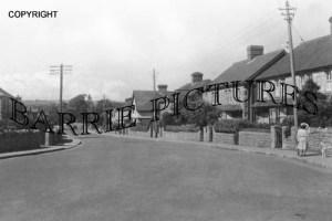 Shepton Mallet, Compton Road c1950