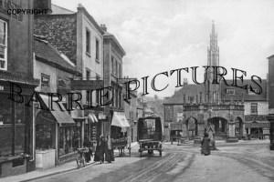 Shepton Mallet, Market Place c1900