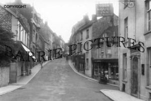 Shepton Mallet, Town Street c1935